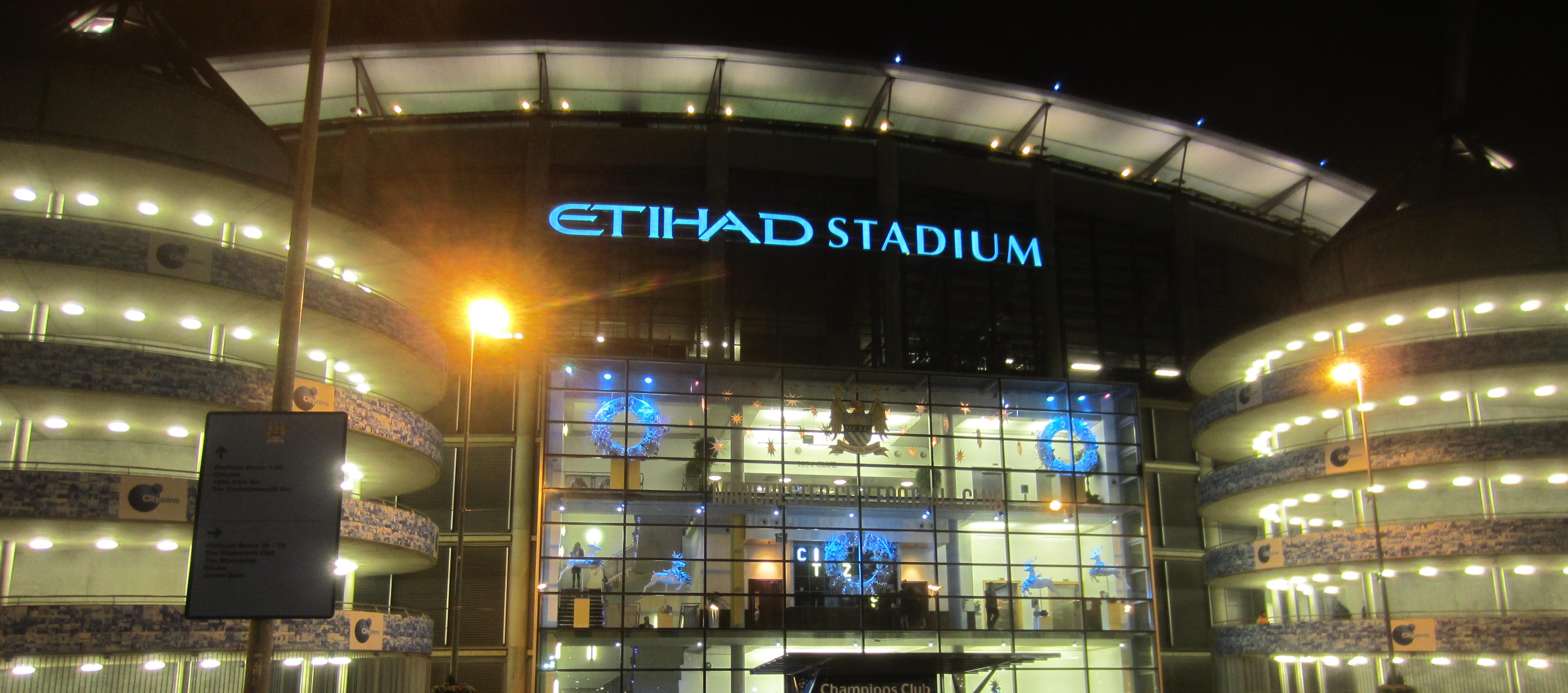 Etihad Stadium Manchester City